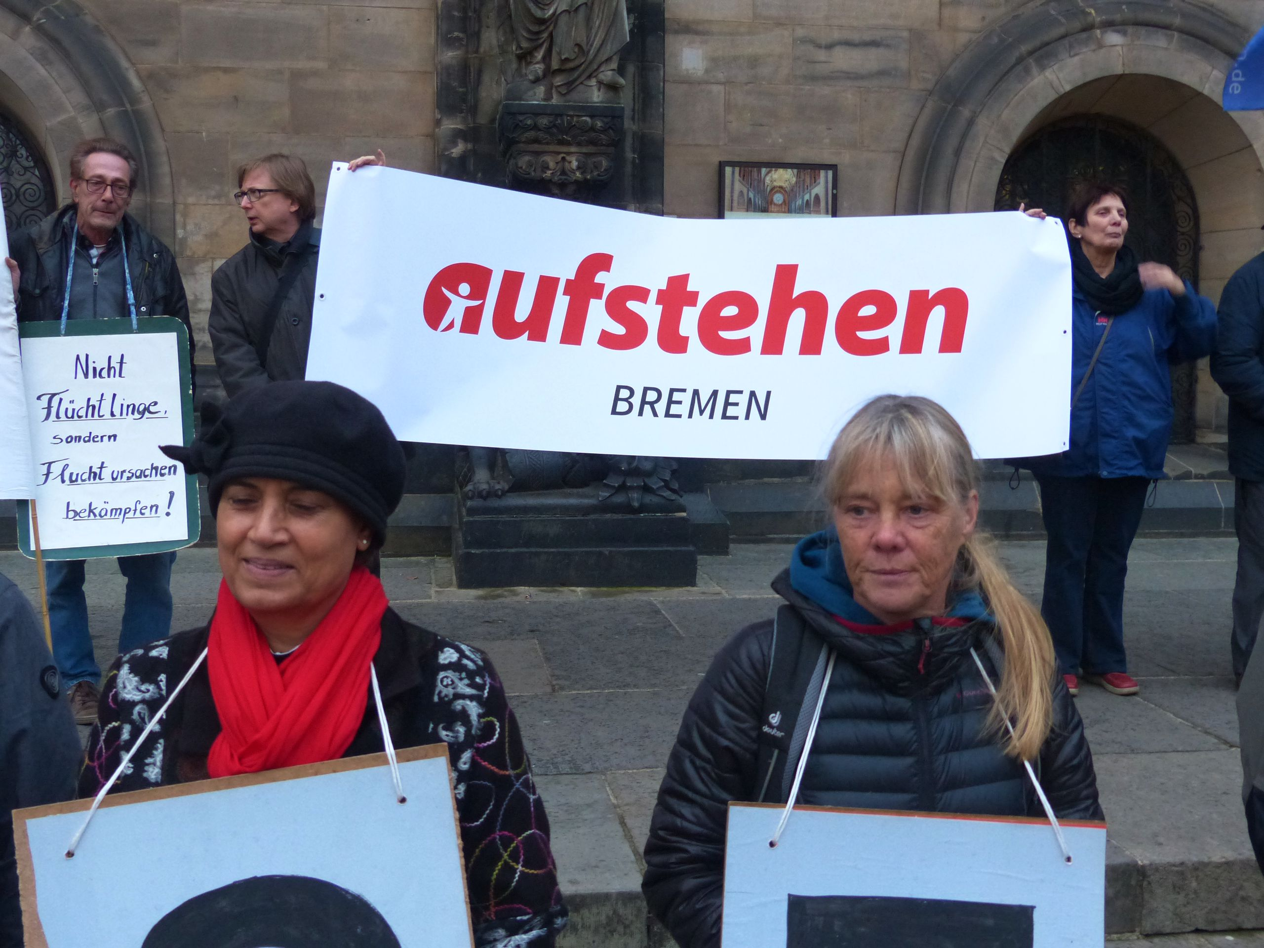Abruesten-Aktion-Bremer-Friedensforums