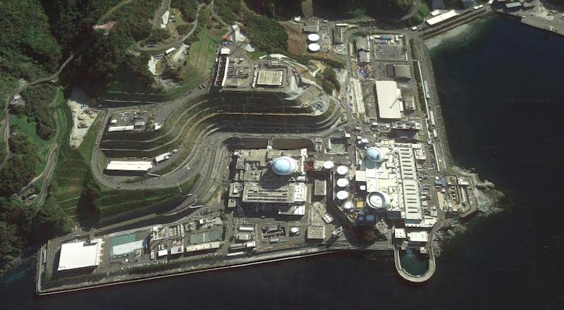 Atomkraftwerk-Ikata-Japan