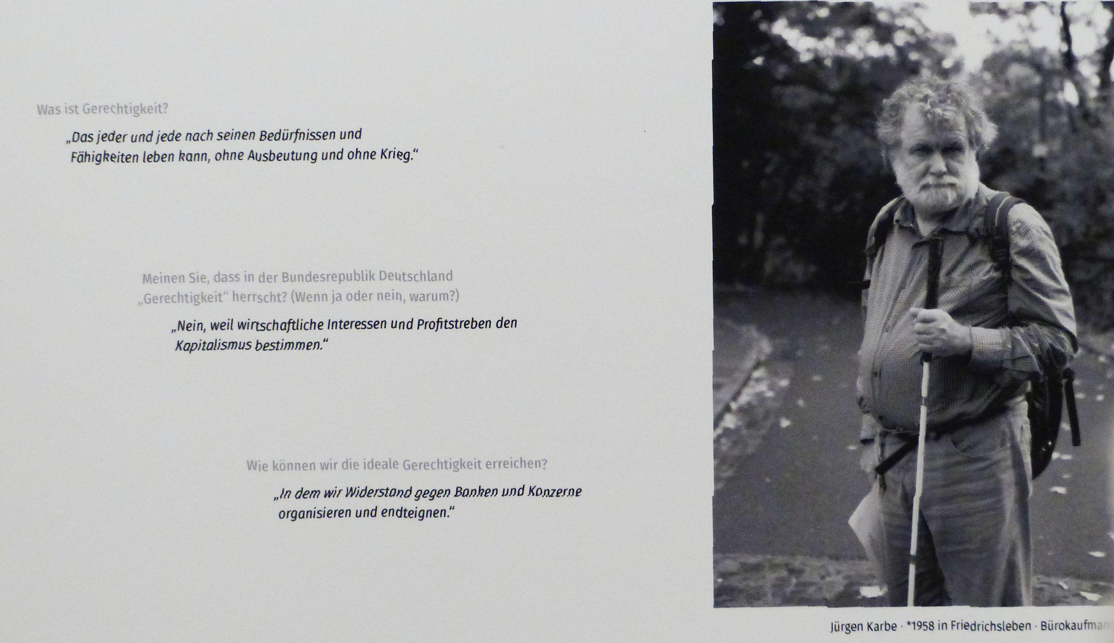 Ausstellung in der Bremer Kulturwerkstatt Westend