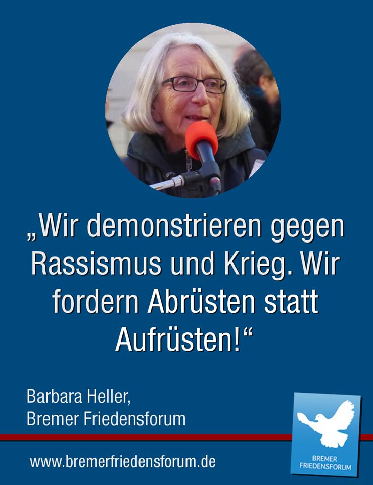 Barbara Heller Bremer Friedensforum