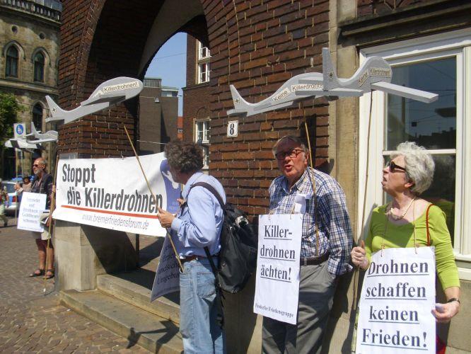 Bremer Friedensforum gegen Killerdrohnen