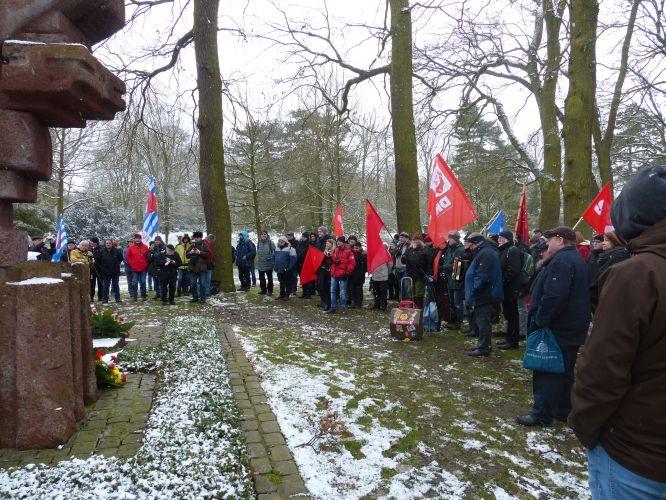 Gedenken an die Bremer Räterepublik