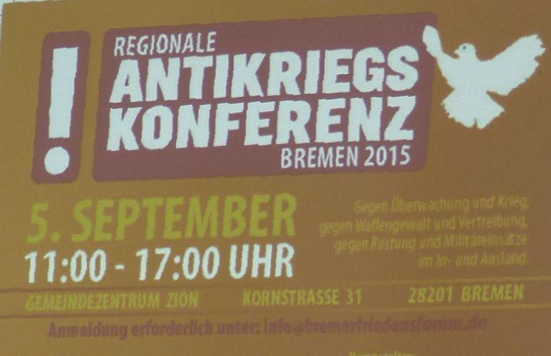 Antikriegskonferenz