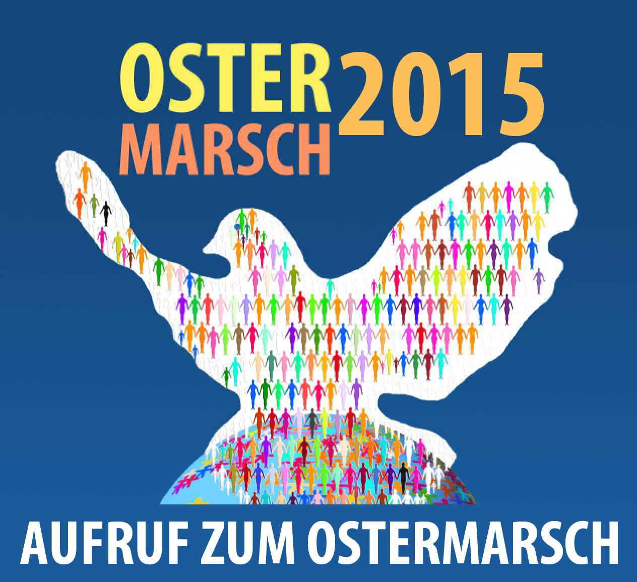Aufruf zum Ostermarsch 2015
