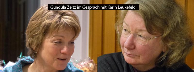Gundula Zeitz im Gespräch mit Karin Leukefeld