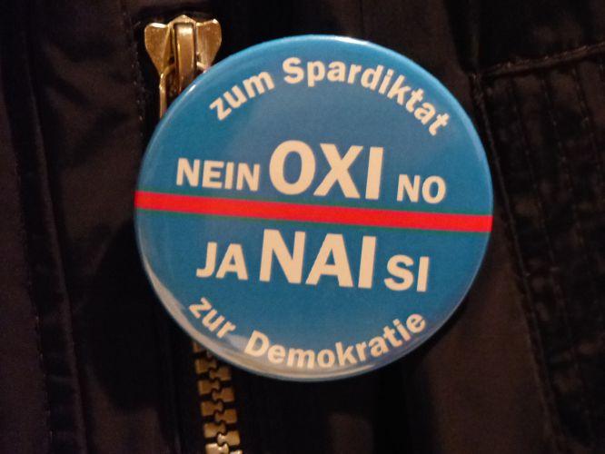 Solidarität mit den Griechen